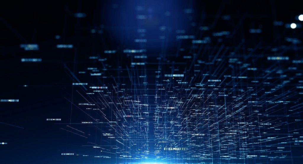 Photo illustration of big data